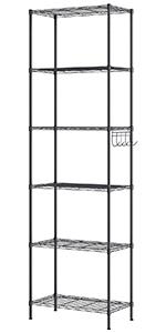6 Tier Standing Shelf