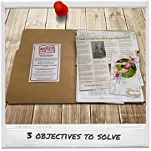 cold case mystery game solve the crime folder