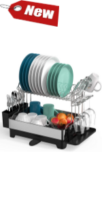 over sink dish rack