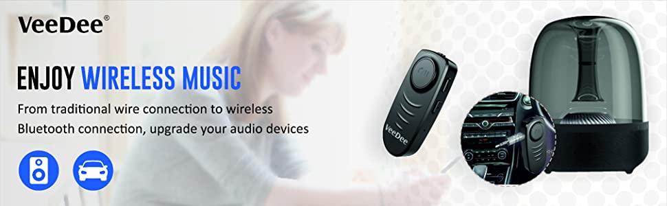 Bluetooth Wireless for home speaker and car