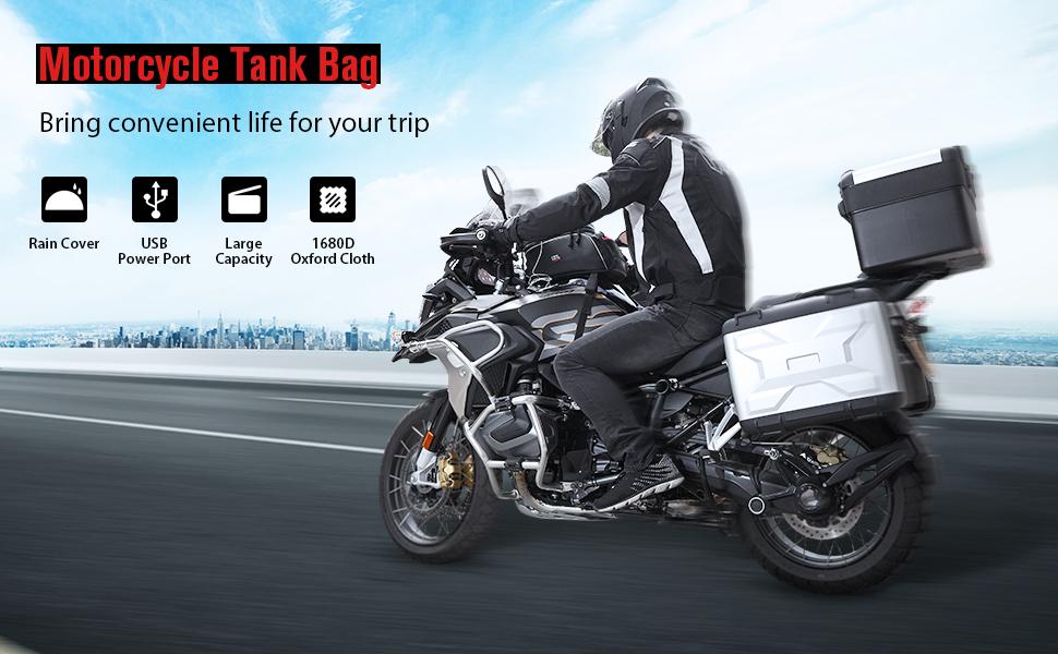kemimoto Motorcycle Tank Bag