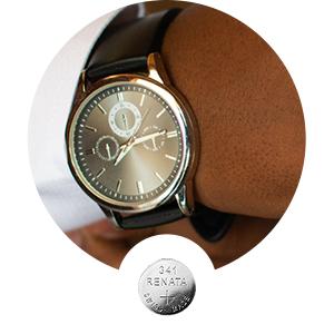 Renata silver-oxide watch battery series