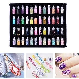 nail art glitter bottle