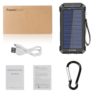 solar cell phone charger  30000mAh