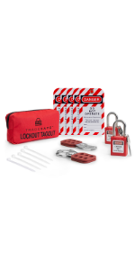 Tradesafe Lock out Tag out Kit 1
