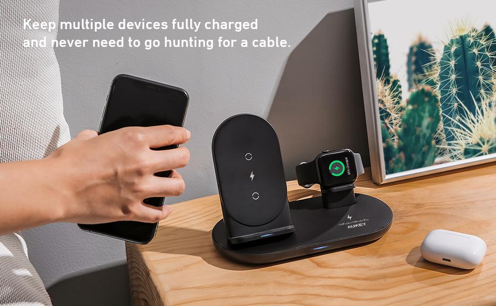 iphone charging dock  wireless charging apple watch charger stand  apple watch charging stand