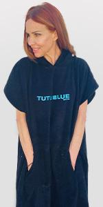 TutuBlue, Surf Poncho, Unisex