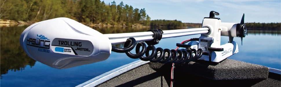 Haswing bow mount trolling motor