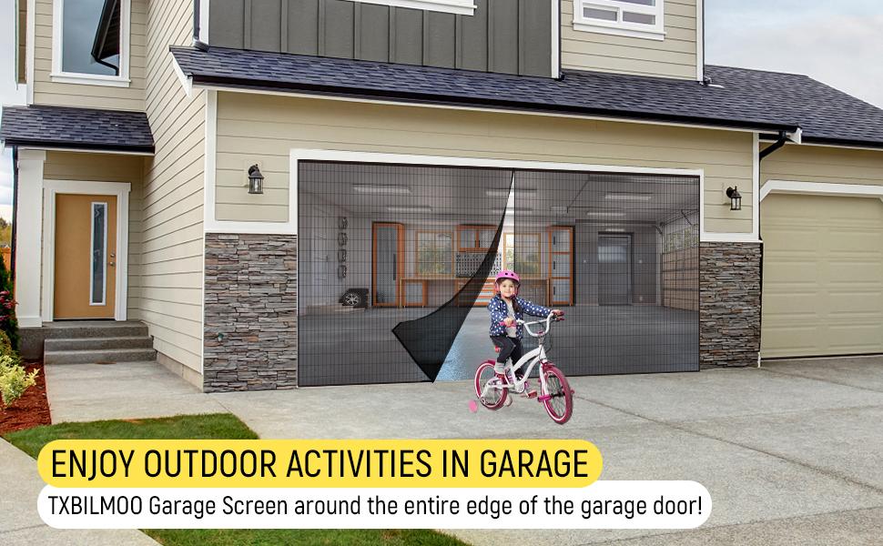 garage door screen