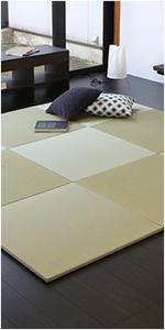 置き畳 琉球畳 畳マット フローリング畳 縁なし 国産い草製 パラレル オッチ エバ