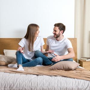 bedroom, couple, energy
