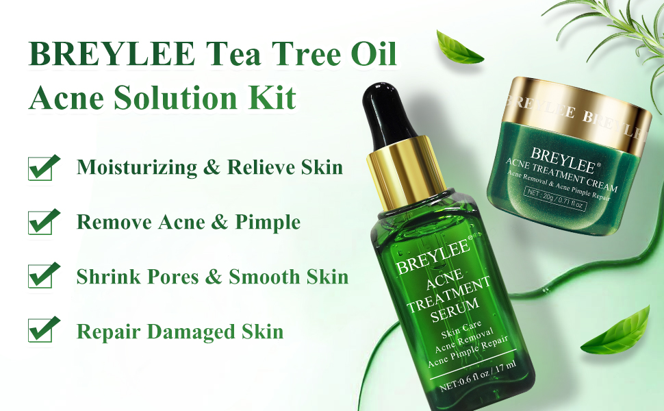 Tea Tree Oil Acne Solution Kit