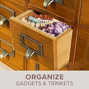 desktop organization jewlwey organizer box desk supplies for women office craft organizer mail