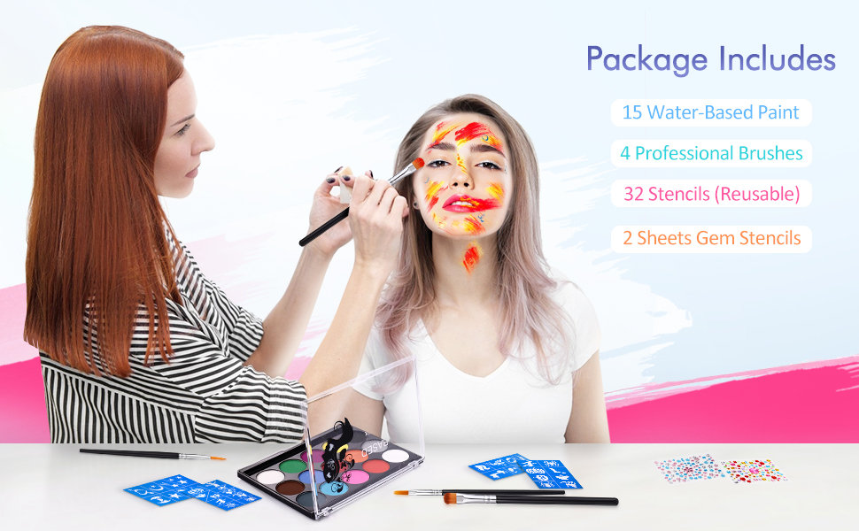 Face& Body Painting Kits