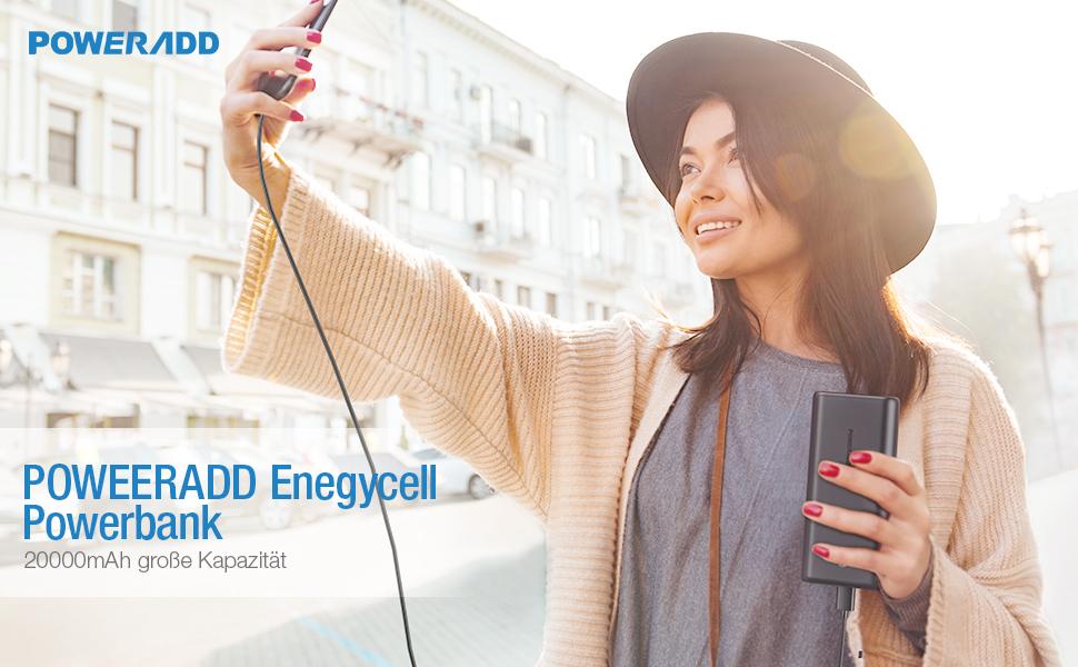 EnergyCell 20000mAh powerbank