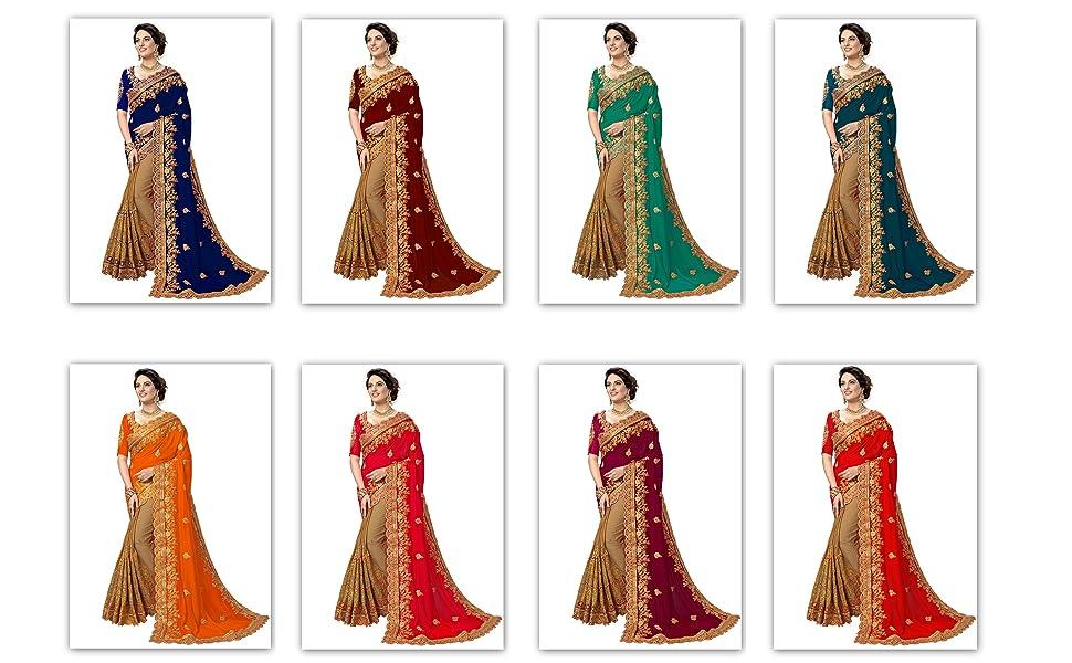 party wear saree sari