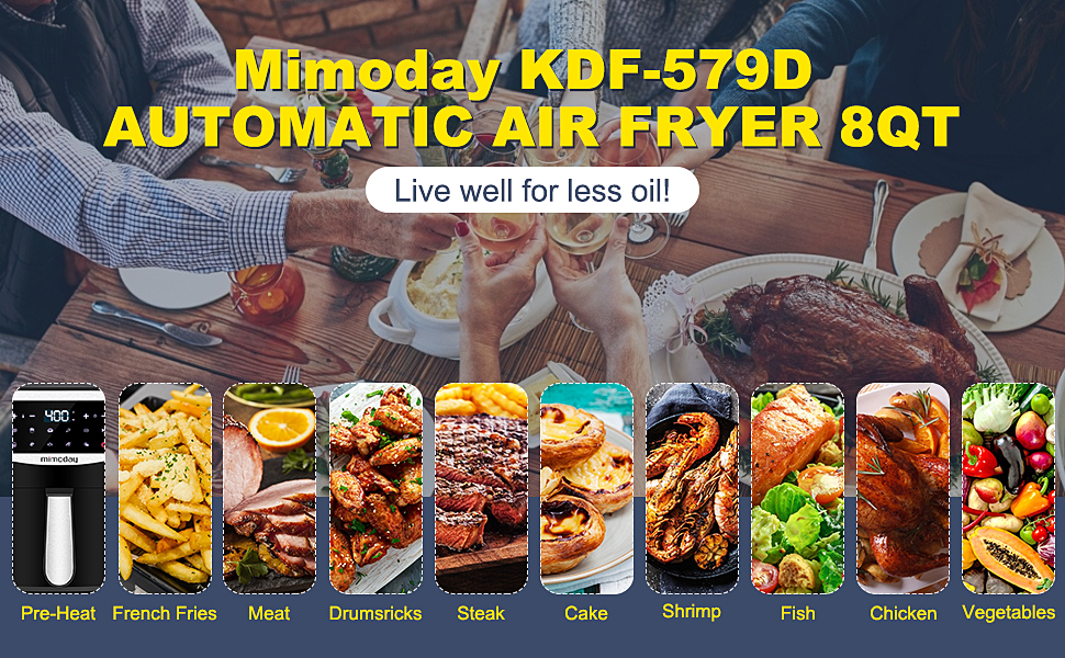 automatic air fryer