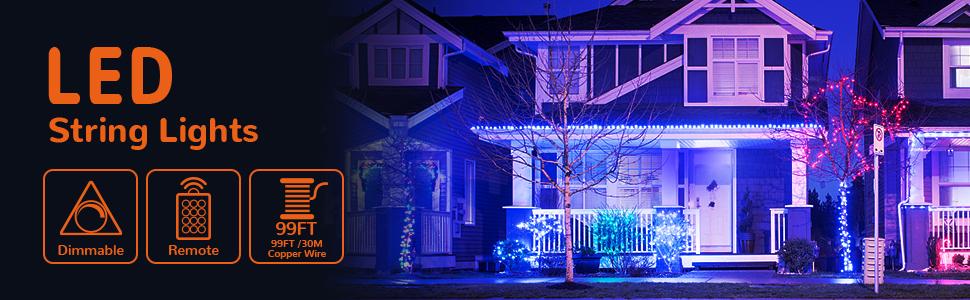 99ft string lights