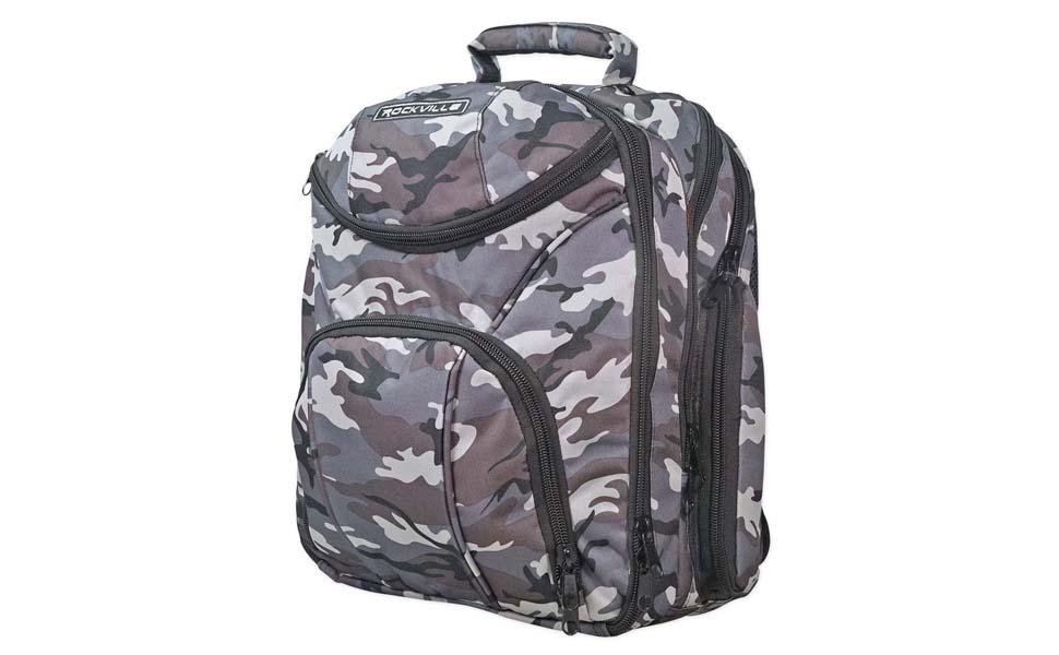 Rockville Travel Case Backpack Bag For Behringer XR18 X Mixer