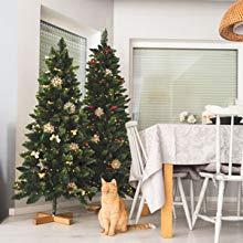 fairytrees k nstlicher weihnachtsbaum kiefer natur weiss. Black Bedroom Furniture Sets. Home Design Ideas