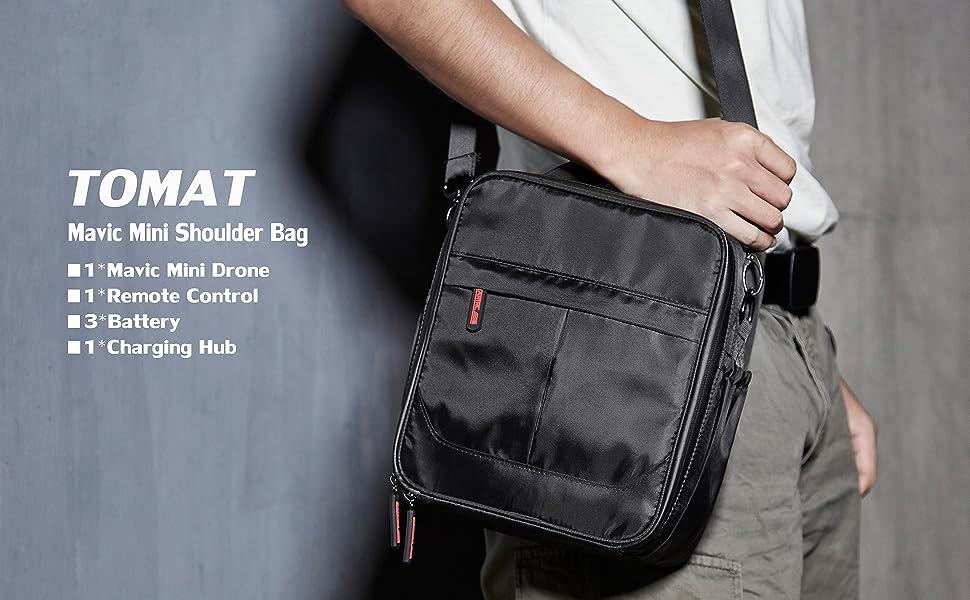 STARTRC DJI Mavic Mini Bag Portable Storage Bag Carrying Case Shoulder Bag Black