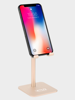 phone stand red