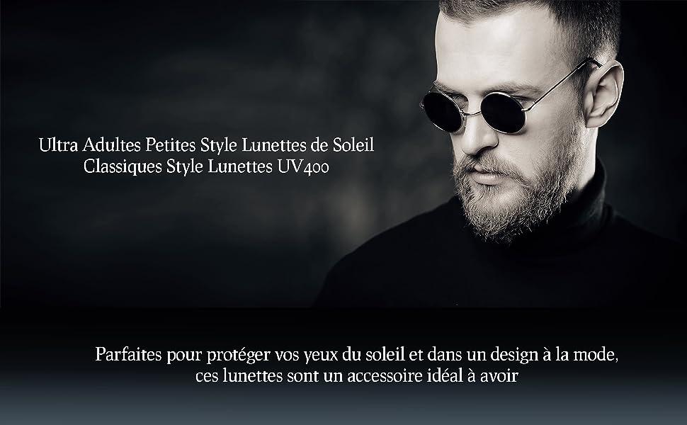 Designer Lunettes De Soleil Classiques Rétro VINTAGE BIG UV400 Homme Femme Garçon Fille Femme