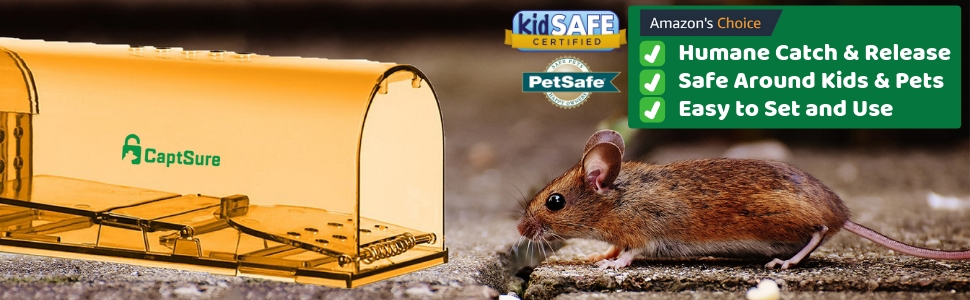 humane mouse trap live catch and release no kill non lethal have a heart havahart that works best