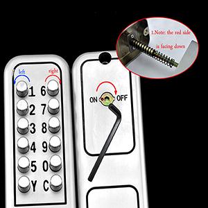 door  gate outdoor mechanical lock gate code lock  locks with keypads digital  gate