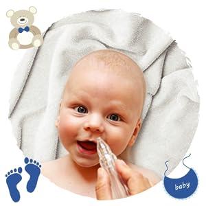 NUEVO: Aspirador Nasal Bebes con regulación automática de la ...