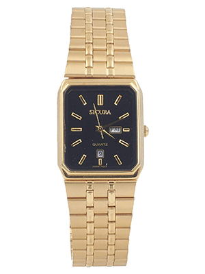 Classic Golden Watch