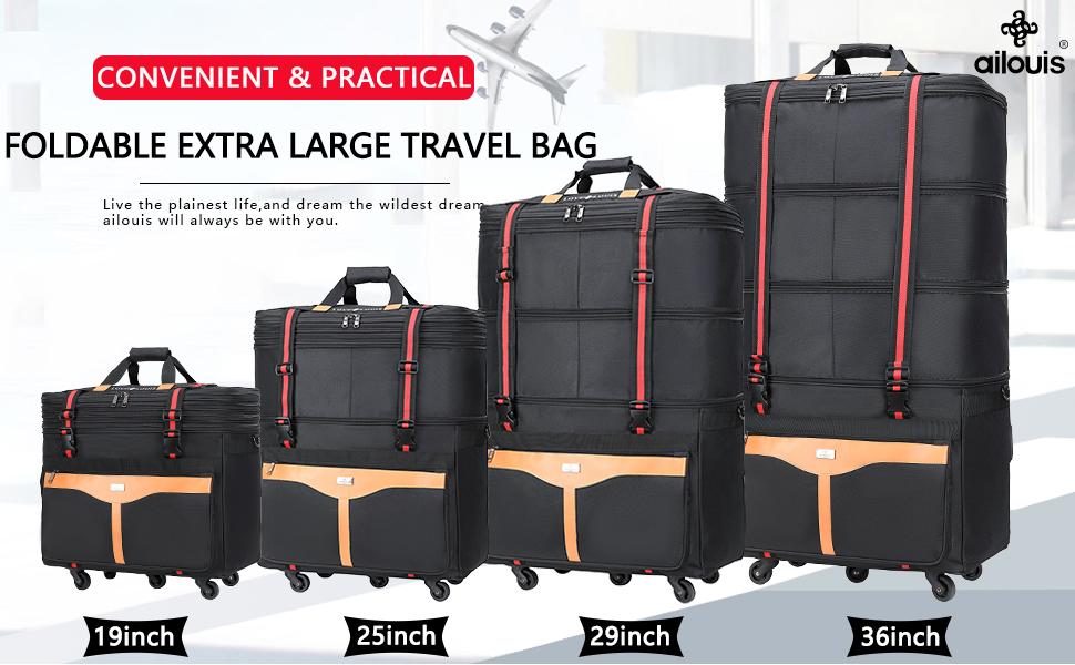 foldable luggage