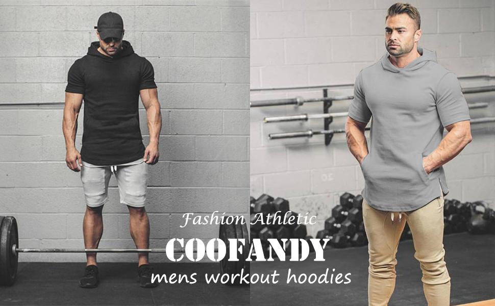 coofandy workout hoodies