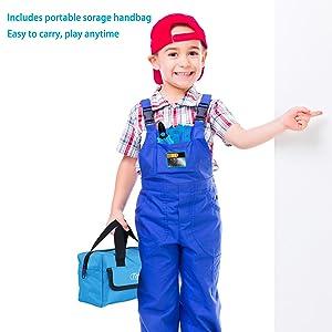 kids tool set storage bag