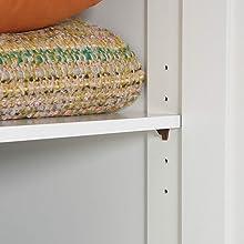 Storage Cabinet, White