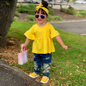 toddler girl clothes sunflower toddler girl outfits toddler girl jean outfit