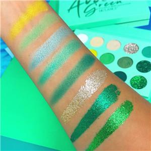 gorgeous green eyeshadow
