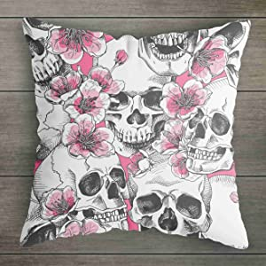 pink pillow cover