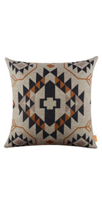 """LINKWELL 18""""x18"""" Ethnic Printed Pattern Design Attractive Pillowcase"""