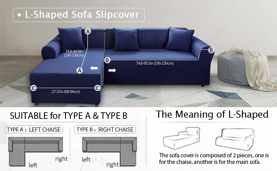 Pleasing Sand Sofa Slipcover Safetyon Elastic Sofa Cover Sets L Shape Stretch Furniture Cover Pet Dog Sectional Corner Couch Covers Thin Velvet L Type Flexible Lamtechconsult Wood Chair Design Ideas Lamtechconsultcom