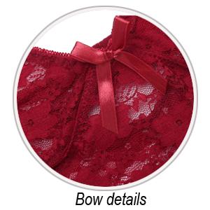 chemise lingerie with garter