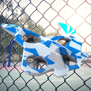 Mayceyee F22 Drone for Kids and Beginner_Blue_4-2