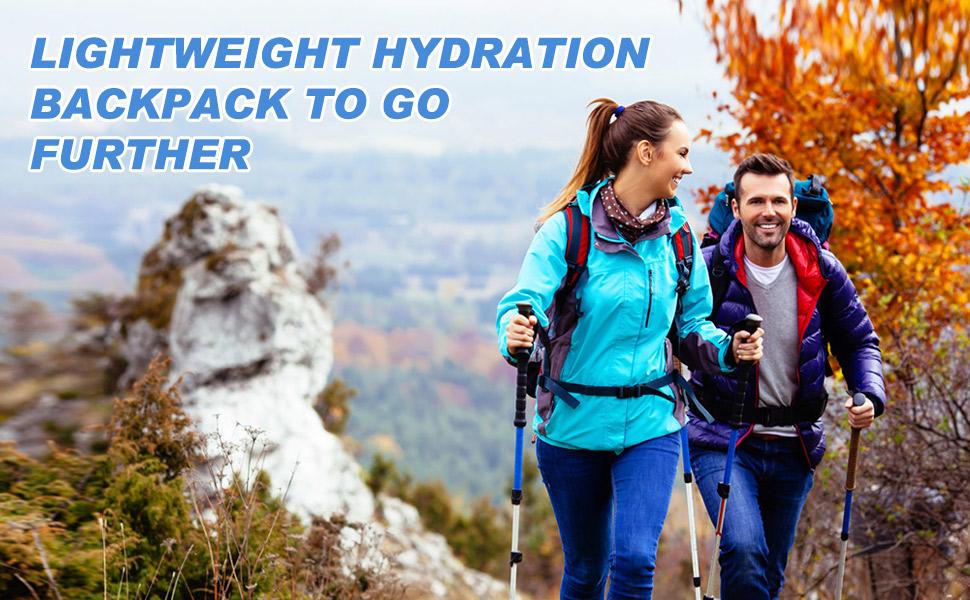 Hydration Pack & 2L Hydration Water Bladder