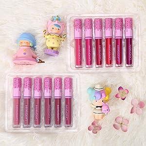 variety lip gloss pack