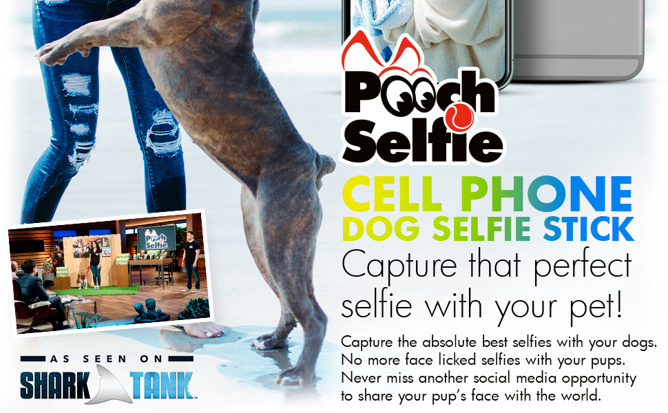 selfie stick for pets as seen on shark tank doggo doggie doggy pics perfect picture  plush chew toys