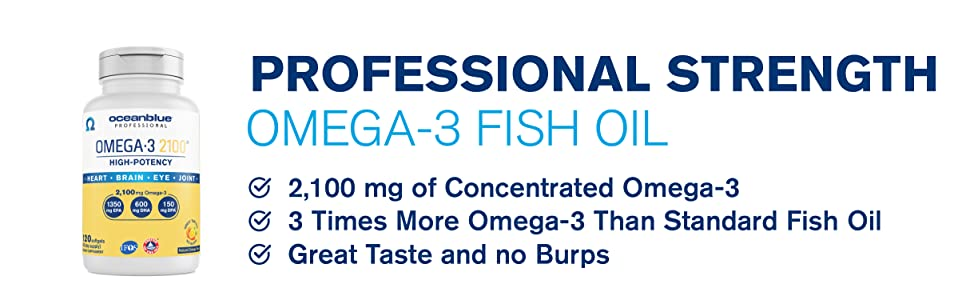 concentrate omega 3 fish oil no burps