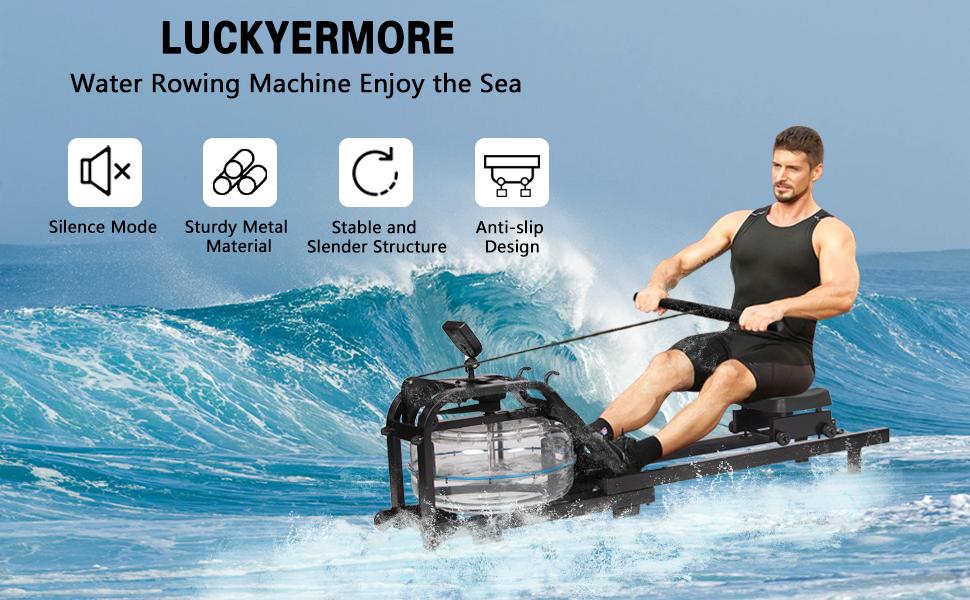 LUCKYERMORE Rowing Machine