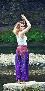hippie pants boho bohemian pants clothing