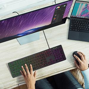 Laptop Tastatur mit Kabel