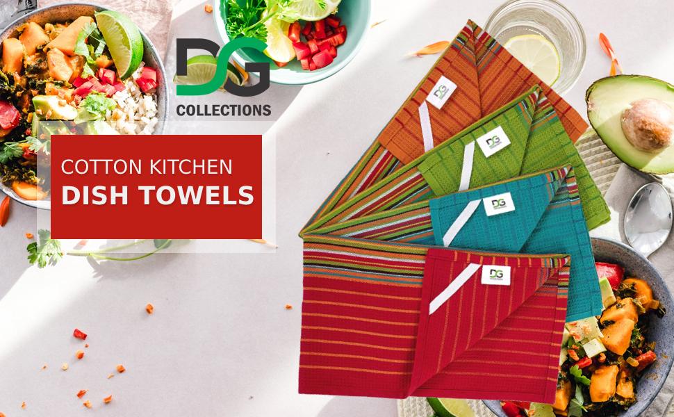DG Collection Kitchen Cotton flour sack dish napkin towel SPN-DCON